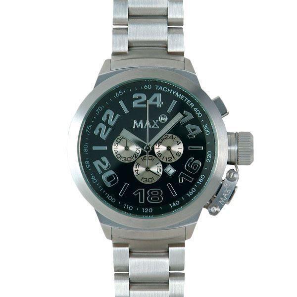 逆輸入 MAX XL WATCHES(マックスエックスエルウォッチ) 5-MAX458 52mm Big Face メタルバンド腕時計, HOTSTYLE小浜店 d5ca0aa1