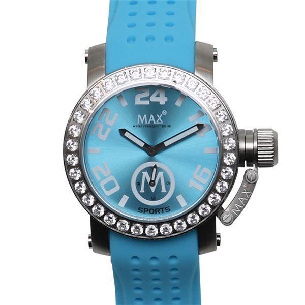 輝く高品質な MAX XL WATCHES(マックスエックスエルウォッチ) 5-MAX553 (36mm 2013 New Model) ラバーベルト腕時計, クシマシ 0d209f10