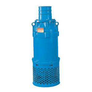 ツルミポンプ 一般工事排水用水中ポンプ KRS型 口径200mm 18.5KW 三相200V メーカー直送品代引不可 KRS819