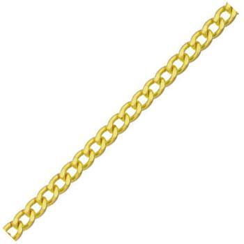 ニッサチェイン 真鍮チェイン(鎖)(フリクションショートマンテル)30m(箱入)線径3.2mm【取寄せ品】 BS32F