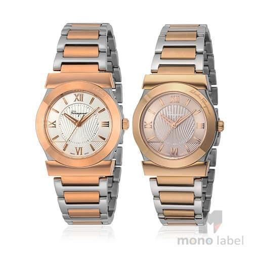 最高級のスーパー SALVATORE FERRAGAMO サルヴァトーレ フェラガモ 腕時計 レディース ヴェガ FIQ030016 FIQ040016 シルバー ブラウン 並行輸入品, BRAND JET 27db37b0