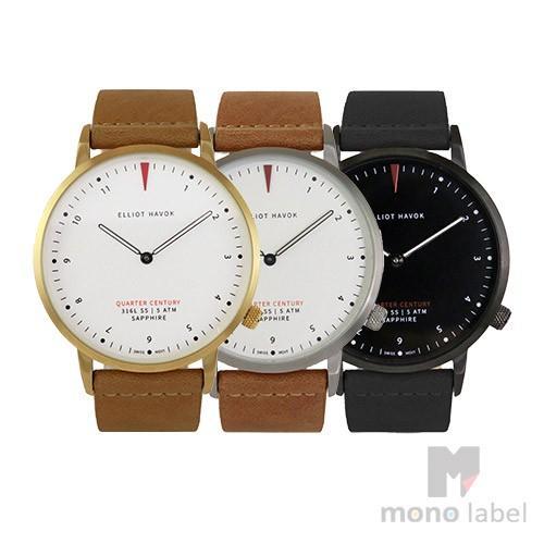 Quarter Century Watch QCW クオーターセンチュリーウォッチ 腕時計 QCW WATCH GOLD STEEL BLACK日本公式店舗|area-online