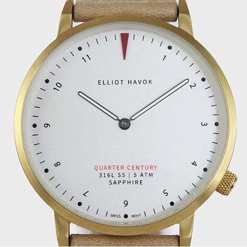 Quarter Century Watch QCW クオーターセンチュリーウォッチ 腕時計 QCW WATCH GOLD STEEL BLACK日本公式店舗|area-online|02