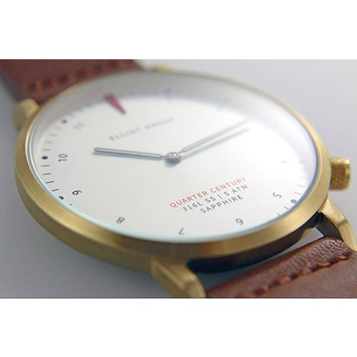 Quarter Century Watch QCW クオーターセンチュリーウォッチ 腕時計 QCW WATCH GOLD STEEL BLACK日本公式店舗|area-online|05