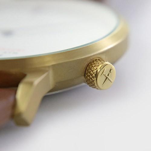 Quarter Century Watch QCW クオーターセンチュリーウォッチ 腕時計 QCW WATCH GOLD STEEL BLACK日本公式店舗|area-online|07