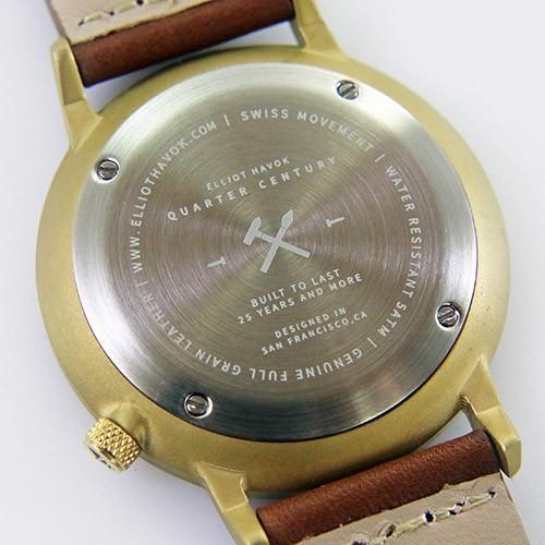 Quarter Century Watch QCW クオーターセンチュリーウォッチ 腕時計 QCW WATCH GOLD STEEL BLACK日本公式店舗|area-online|08