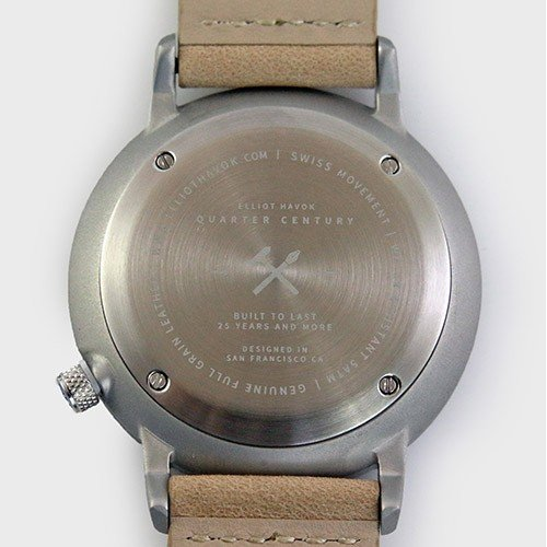 Quarter Century Watch QCW クオーターセンチュリーウォッチ 腕時計 QCW WATCH GOLD STEEL BLACK日本公式店舗|area-online|09