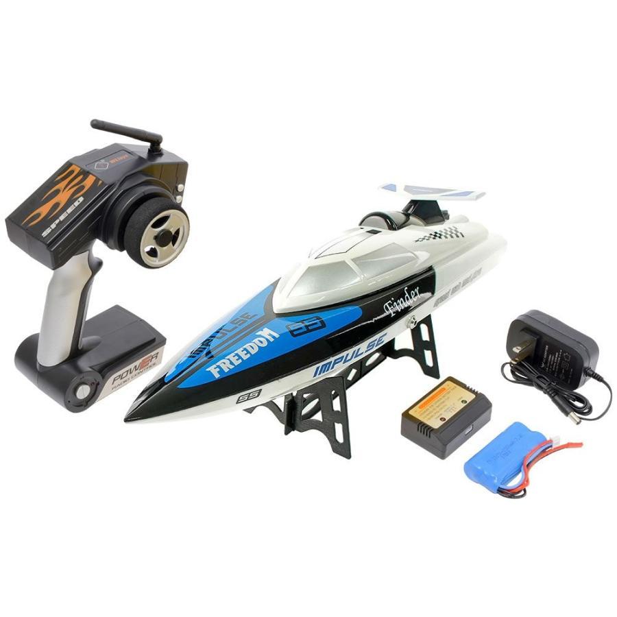 ハイテック WL TOYS ハイスピードレーシングボート TIGER SHARK ホワイ WLB912W RCボート