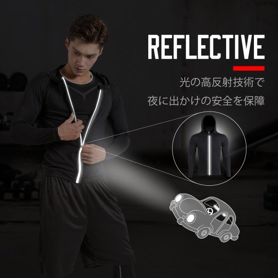 Sillictor スポーツウェア 4点 セット 半袖 コンプレッションウェア + ロング コンプレッションタイツ + ショート パンツ メ