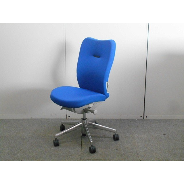 OAチェア肘無 ナイキ ナイキ ENEIR サイズ:幅480×奥行660×高さ950mm 色:ブルー