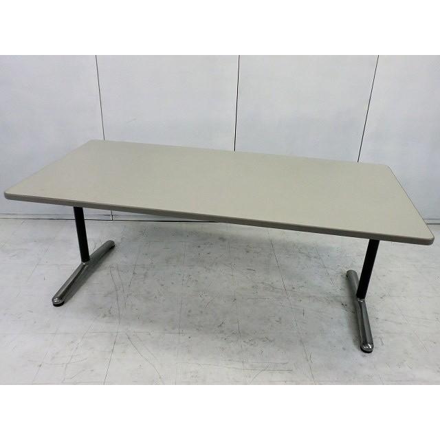 会議テーブル 会議テーブル イトーキ ニューグレー サイズ:幅1800×奥行900×高さ700mm 色:ニューグレー