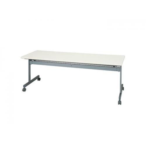 フォールディングテーブル ネオホワイト 平行スタック