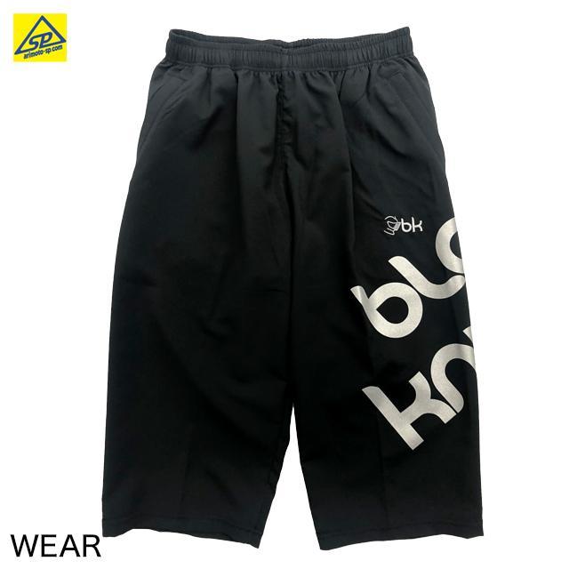 ブラックナイト 6分丈パンツ S-1372 BLA バドミントン専門店会オリジナル六分丈パンツ|arimotospshop|02