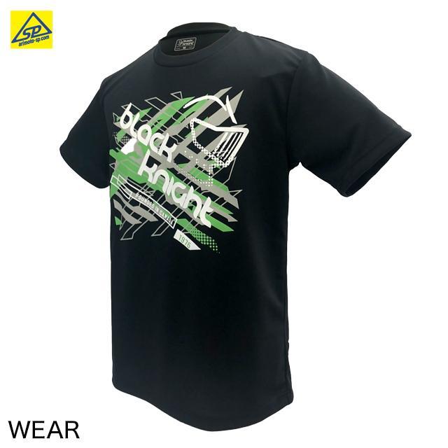 ブラックナイト ユニTシャツ T-1121 BLA バドミントン専門店会オリジナルTシャツ|arimotospshop