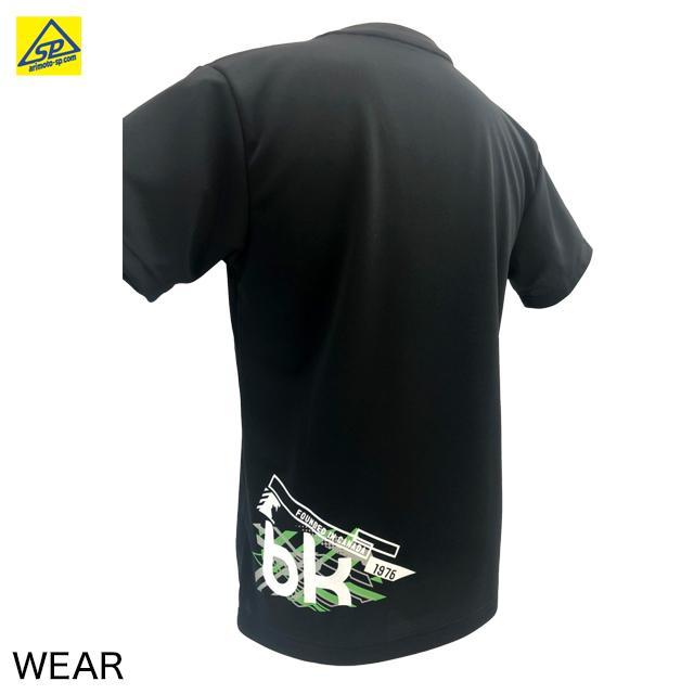 ブラックナイト ユニTシャツ T-1121 BLA バドミントン専門店会オリジナルTシャツ|arimotospshop|03