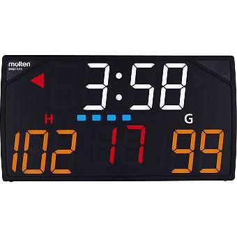 モルテンデジタイマ110X UX0110 屋内用 多機能卓上スポーツカウンター 2012新ルール対応 取寄せ