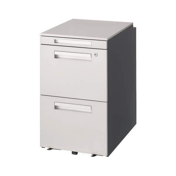 オフィス家具 | サイドワゴン VD042AH シルバーダークグレー