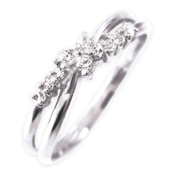 品質検査済 ダイヤモンド | Pt100 ダイヤリング 指輪 17号, 総合通販Mina_Kuru 903919c2