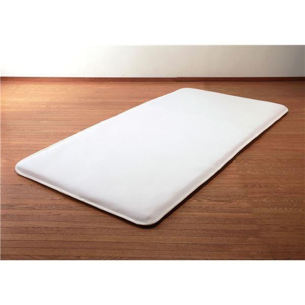 寝具 | 洗える敷布団(リバーシブル仕様)(セミダブル) 高反発エアークリンプ中芯使用 収納ケース付き 日本製