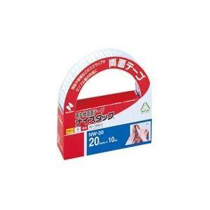 (まとめ売り×100) ニチバン 両面テープ ナイスタック (幅20mm×長さ10m) NW20