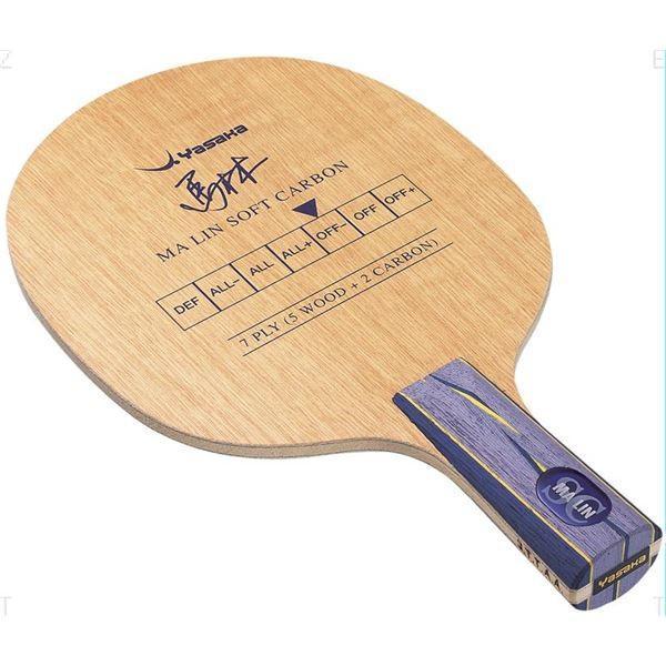 卓球用品 | ヤサカ(Yasaka) シェークラケット MALIN SOFT CARBON FLA(馬林ソフトカーボン MSC3 フレア) YM13