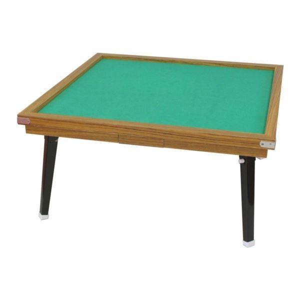 ゲーム | 手打ち麻雀卓(折りたたみ麻雀テーブル) 点棒入れ用引き出し付き 枠取り外し可 日本製 MS200