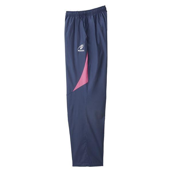 卓球用品   ニッタク(Nittaku) 卓球アパレル LIGHT WARMER SPR PANTS(ライトウォーマーSPRパンツ)男女兼用 NW2849 ピンク L