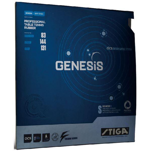 卓球用品 | STIGA(スティガ) テンション系裏ソフトラバー GENESIS S(ジェネシス S)レッド 特厚