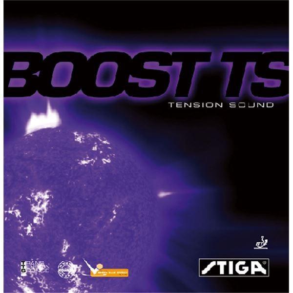 卓球用品 | STIGA(スティガ) テンション系裏ソフトラバー BOOST TS(ブースト TS) レッド 特厚