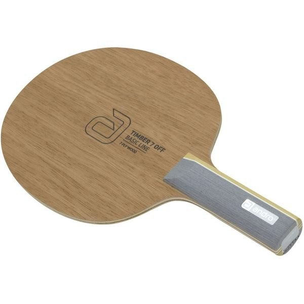 卓球用品 | andro(アンドロ) シェークラケット TIMBER 7 OFF ST(ティンバー 7 オフ ストレート)
