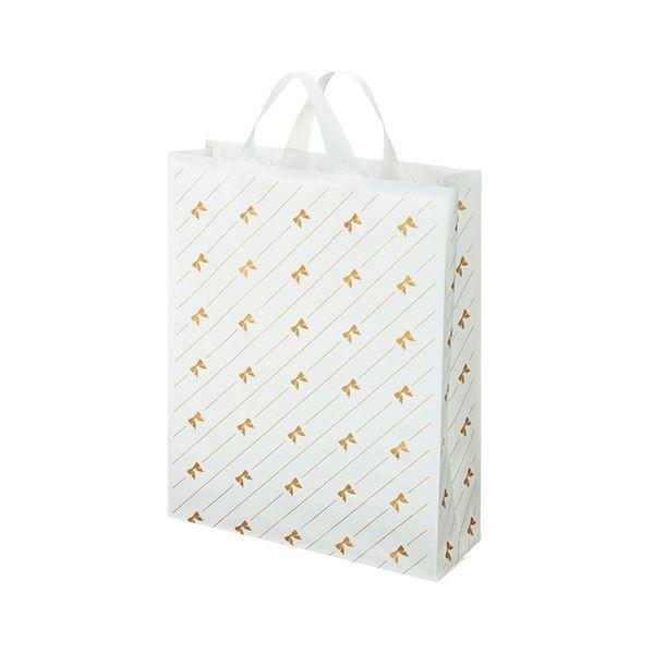 袋類 | 福助工業 カルチャーバッグリボンストライプ柄 中 0497673 1パック(20枚) (×10)
