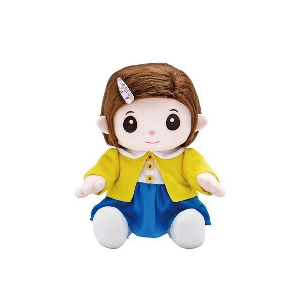 おもちゃ | 脳トレ用品健康サポート器具 (幅20cm) しりとり じゃんけん等収録 声入力ガイド付 『おりこうのんちゃん いっしょに脳トレ』