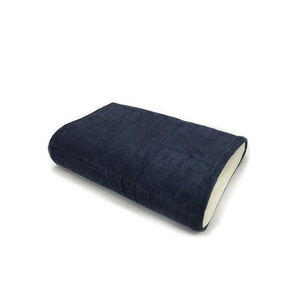 カバー | (同色2枚セット) エアーかおる 消臭枕カバー(43×63cmまでの枕に対応) ネイビー