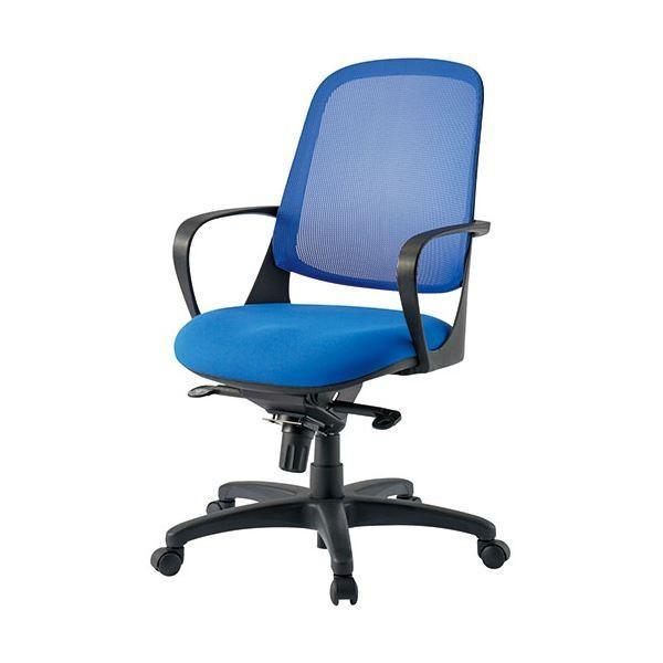 オフィス家具   TOKIO 事務イス CF6M ブルー
