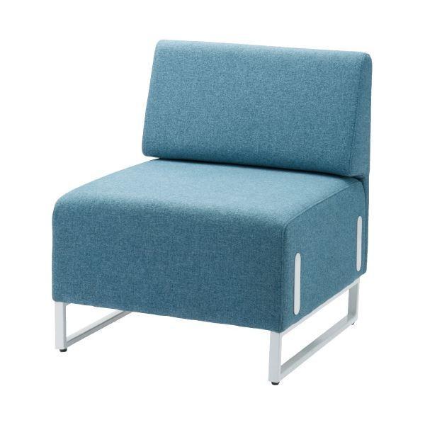 オフィス家具 | FRENZ 応接チェア LDP 背付 ブルー