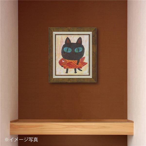 絵画 | 糸井忠晴 アートフレーム IT05111 奈良町ののらねこ|arinkurin2|05
