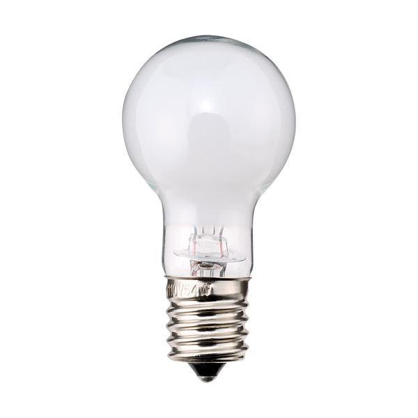 家電 | TANOSEE ミニクリプトン電球 40W形 E17口金 ホワイトタイプ 1パック(6個) (×10)