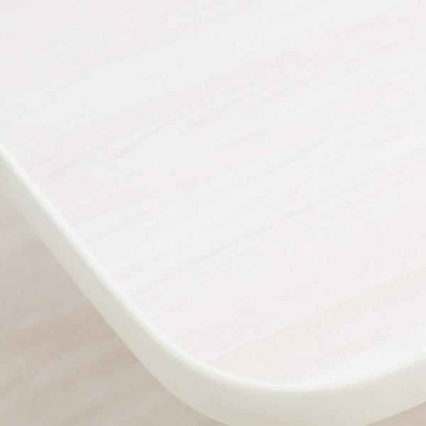 ハウステーブル(45) (ホワイト/白) 幅45cm×奥行30cm 折りたたみローテーブル/木目/軽量/コンパクト/ミニ/完成品/NK45|arinkurin2|04