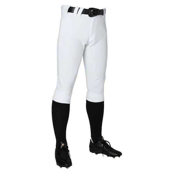 野球用品 | デサント(DESCENTE) ユニフィットパンツプラス ショートフィットパンツ (野球) DB1114P Sホワイト O