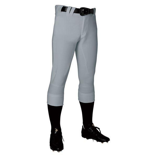 野球用品   デサント(DESCENTE) ユニフィットパンツプラス レギュラーフィットパンツ (野球) DB1119P Kシルバー S