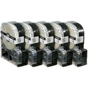 キングジム テプラ PROテープラベルライター用テープ (12mm) 20個入り ロングタイプ SS12KL ホワイト(白)
