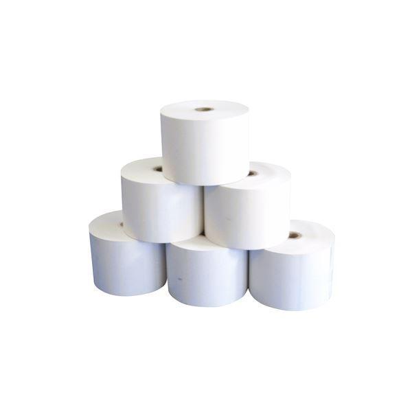 (クローバー電子) 感熱ロール紙(58mm×60mm)20巻入り 0022300690 サーマルプリンター搭載機種対応|arinkurin