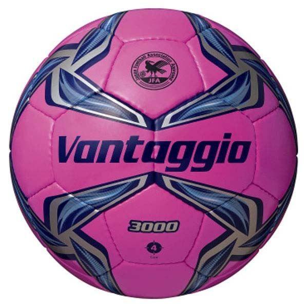 サッカー用品   (モルテン Molten) サッカーボール 4号球 (ヴァンタッジオ3000 ピンク×ネイビー) 人工皮革 (スポーツ用品)