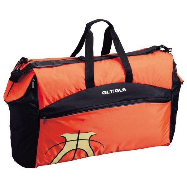 バスケット用品 | (モルテン Molten) バスケットボール用 ボールバッグ (6個入れ) 幅71cm ポケット 肩ひも付き JB60G (運動 スポーツ用品)