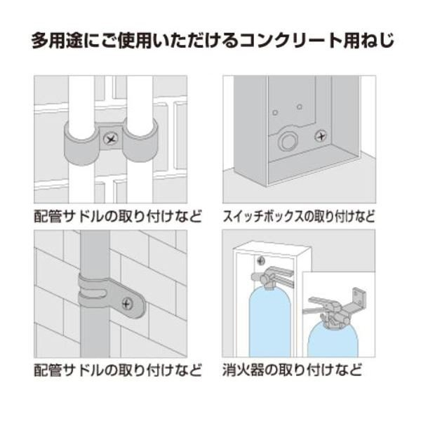 ステンビスコン PVT53045 ナベ5.0×45mm (100本入)(001001174) arinkurin 04