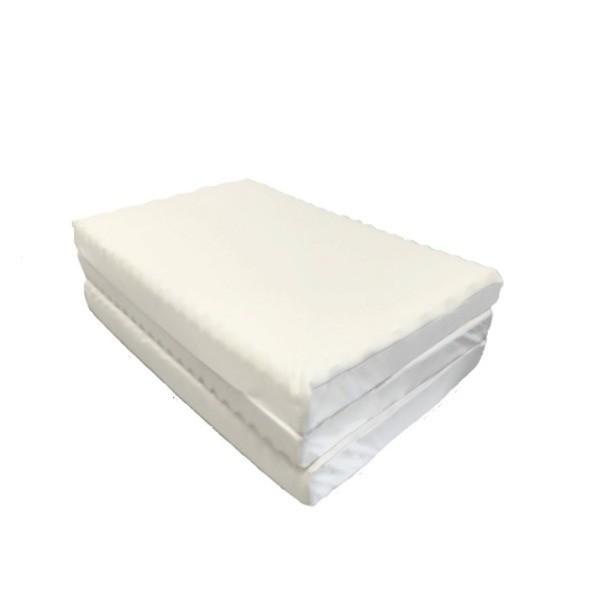 敷き布団 | アキレス 波で支える体圧分散 敷布団寝具 (三つ折りタイプ) 厚み9×幅97×長さ195cm ウレタンフォーム採用