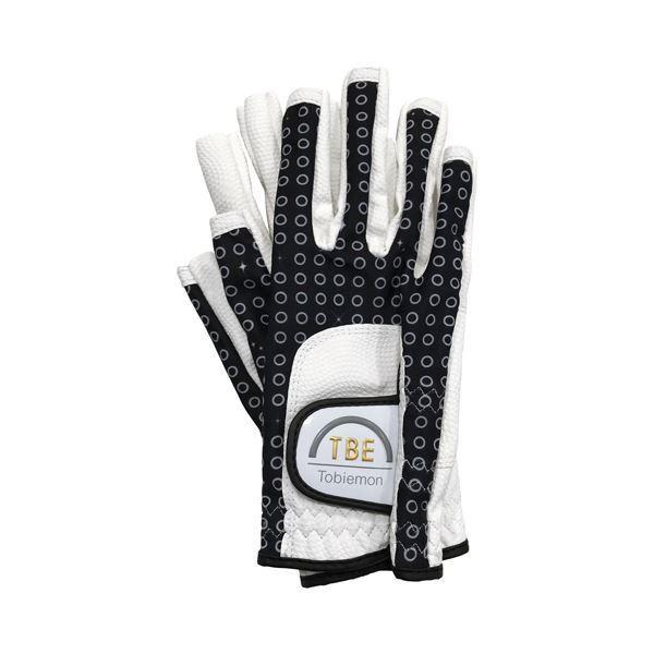 人気が高い ゴルフ用品 | 5個セット TOBIEMON R&A公認レディース ストレッチグローブ ブラックドットスター柄 Mサイズ TLGBMX5, cocobeau 102de339