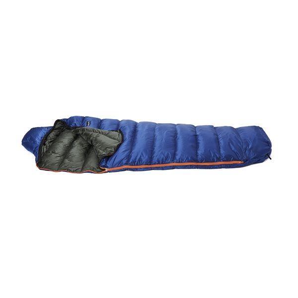 寝袋 | PUROMONTE(プロモンテ) コンパクトダウンシュラフ 300g ネイビー×ダークグリーン