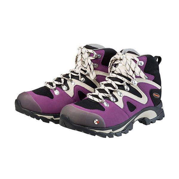 レジャー用品 | レディース トレッキングシューズ登山靴 (グレープ 23.0cm) ゴアテックス 合皮合成皮革 『Caravan キャラバン C4_03』