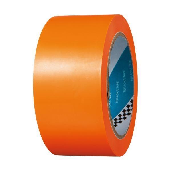寺岡製作所 ラインテープ No.340 50mm×20m オレンジ No.34050X20オレンジ 1巻 (×5)